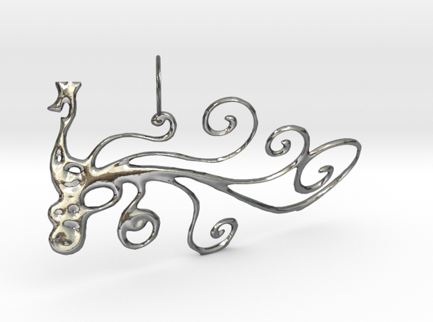 Pauw Hanger in Polished Silver