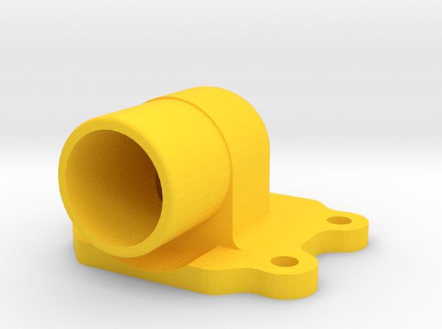 Kreidler Spruitstuk/Ansaugstutzen/ Intake Manifold in Yellow Strong & Flexible Polished