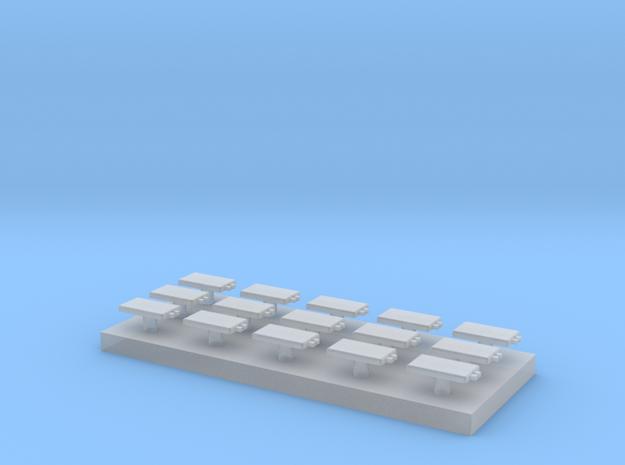 15 Eurobalisen 1:160 (N scale) in Smooth Fine Detail Plastic