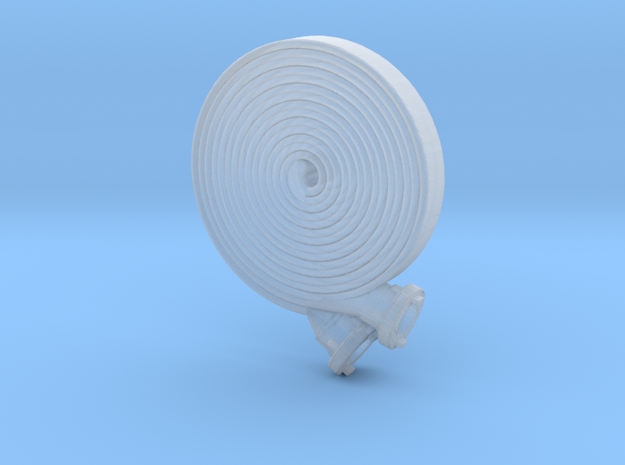 B-Schlauch Doppelt Gerollt 1x  in Smooth Fine Detail Plastic