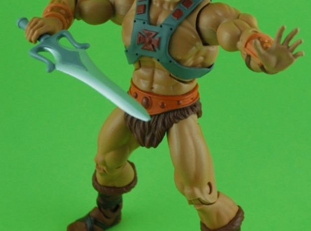 Warrior Hands 3-Pack 2 3d printed The items are painted with acrylic colors