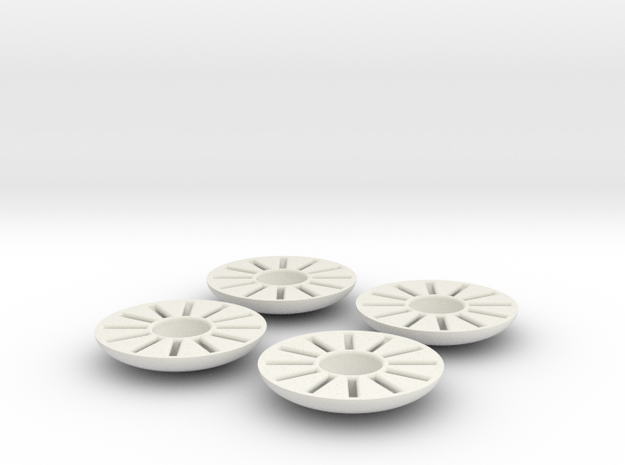 XuGong V2 - Wire Savers in White Natural Versatile Plastic