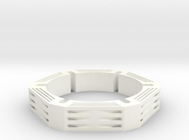 Neo Bracelet 1 in White Processed Versatile Plastic