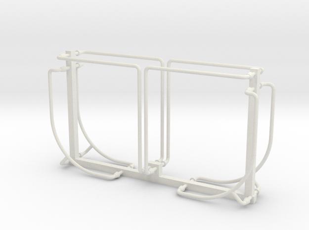 PRR N5b Cabin Car Handrail Set (1:29 Scale) in White Natural Versatile Plastic
