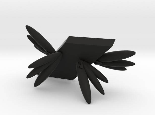 104102321呂昀霖 天使手機架 in Black Natural Versatile Plastic