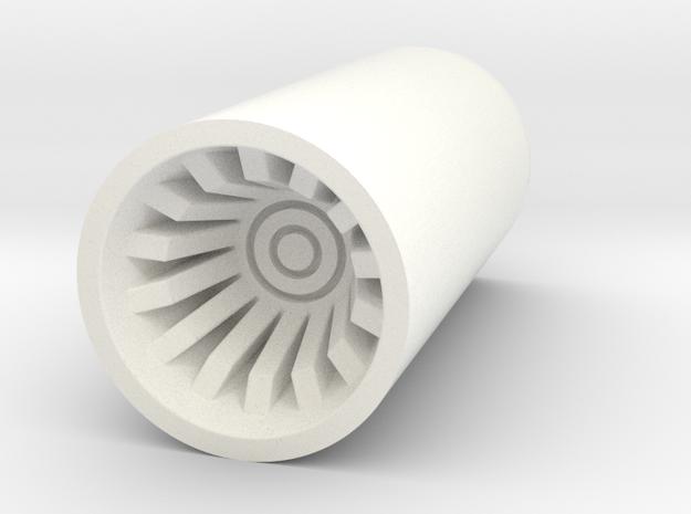 KR Lightsaber V5 Top Plug in White Processed Versatile Plastic