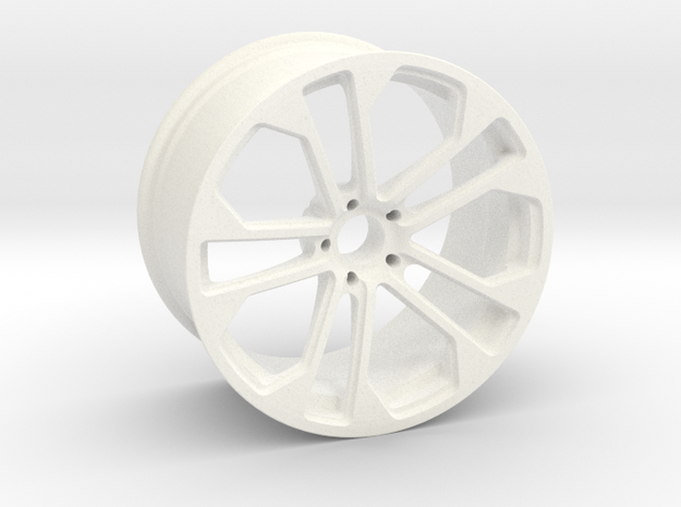 Sport Wheels in White Strong & Flexible Polished