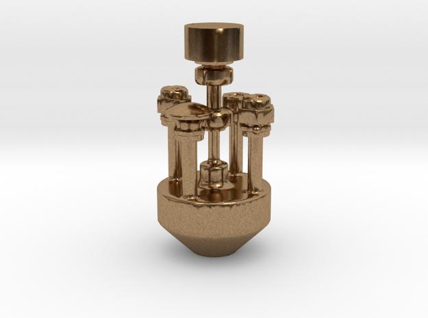 Air Pump Fittings .625 Plus 1% in Natural Brass