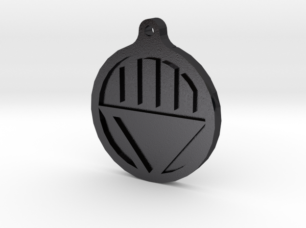 Black Lantern Key Chain 3d printed