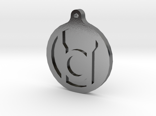 Red Lantern Key Chain 3d printed