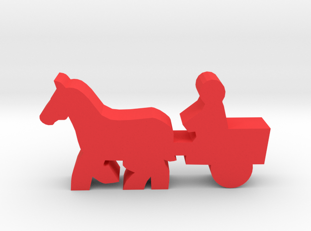Game Piece, Horse And Cart