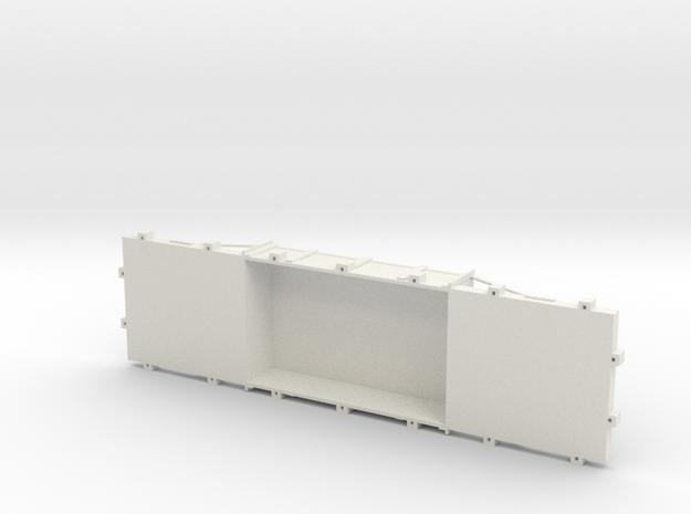 A-1-24-wdlr-f-wagon-body in White Natural Versatile Plastic