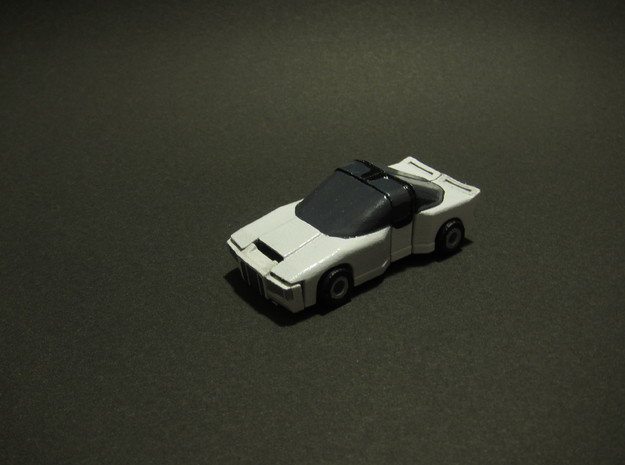 DASHBOARD - transforming to robot from sports car 3d printed