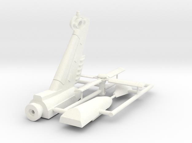 Combat Heli Tail Assembly Lite