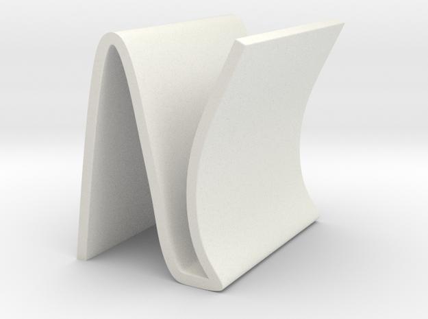 N-type Shelves in White Natural Versatile Plastic