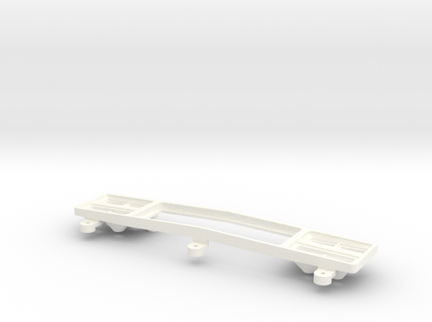AMPro Tamiya Clodbuster GMC Grille Base, 4 of 6 in White Processed Versatile Plastic