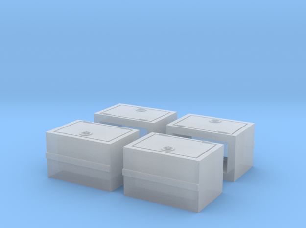 S NP Battery Box in Smooth Fine Detail Plastic