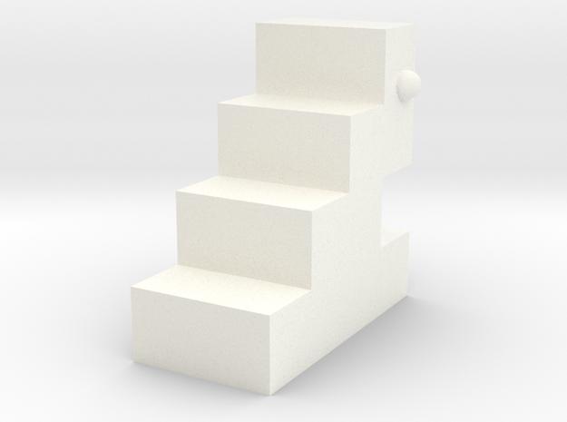 Glove little monster in White Processed Versatile Plastic