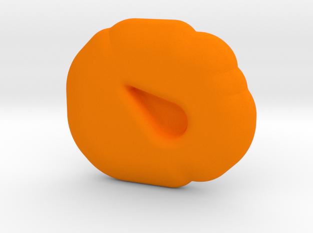 Sacrifice Runestone in Orange Processed Versatile Plastic