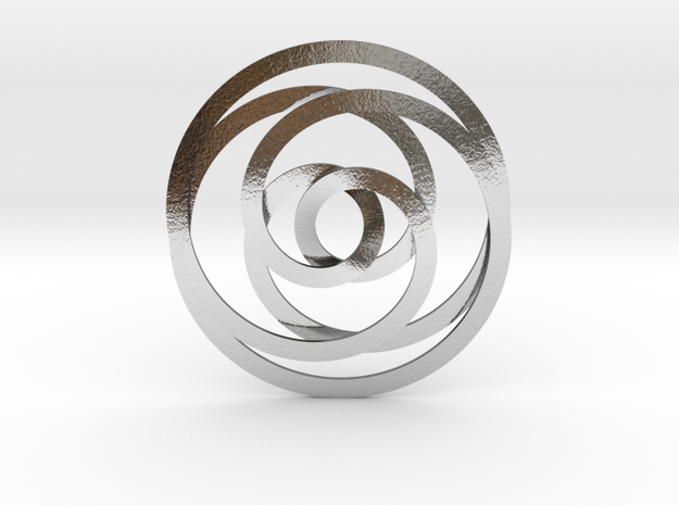Synchrony in Polished Silver