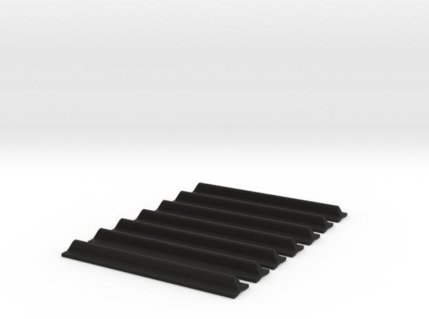 Luke Anh Grips Angled in Black Natural Versatile Plastic