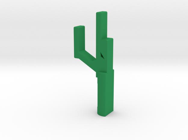 恐龍掛勾.stl in Green Processed Versatile Plastic