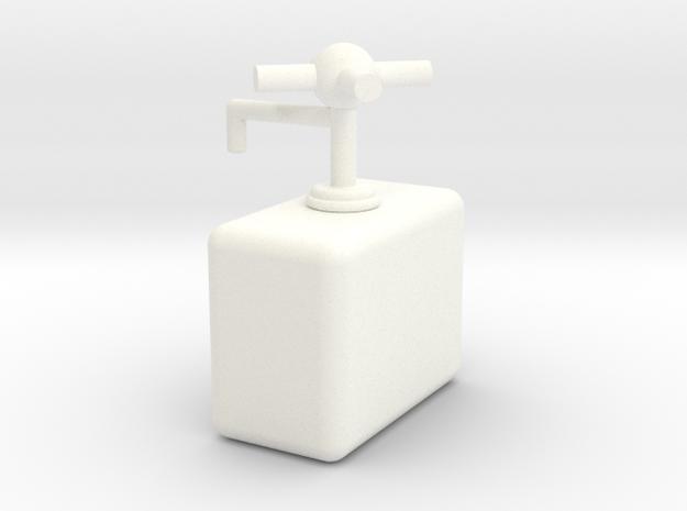 水龍頭洗碗精瓶.stl in White Strong & Flexible Polished
