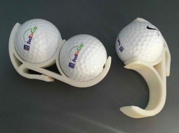 Golf Ball Belt Clip 3d printed