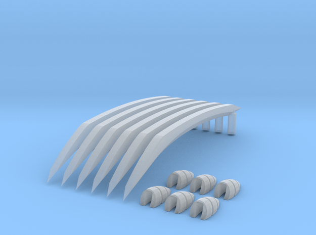 Claw Hand Wolv in Smooth Fine Detail Plastic