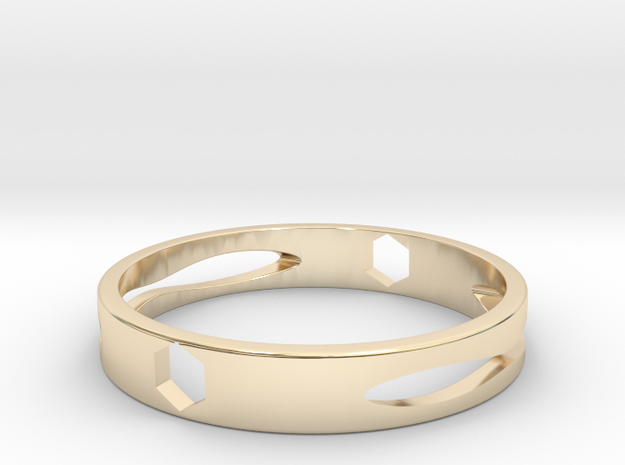 戒指  Ring in 14K Gold