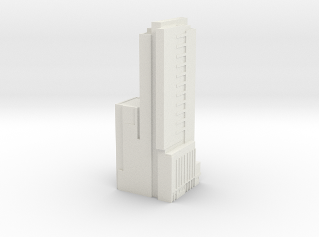 Seattle Knight Building  in White Strong & Flexible