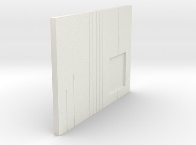 LPA NN-14 - Left side plate in White Strong & Flexible