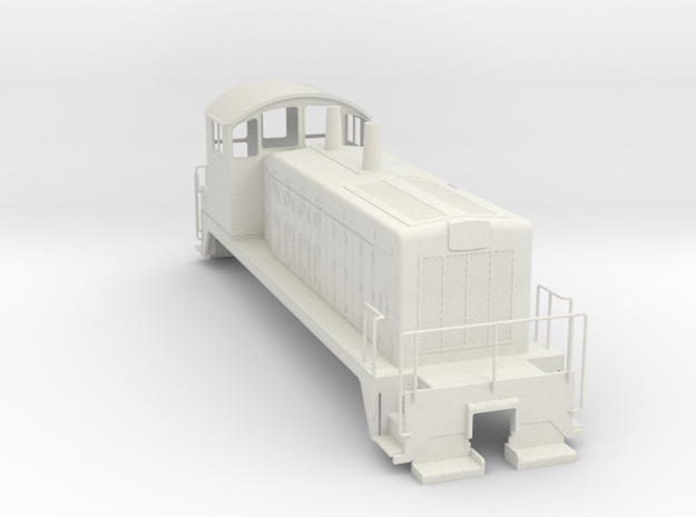 EMD SW7 0Scale WithoutMetalParts