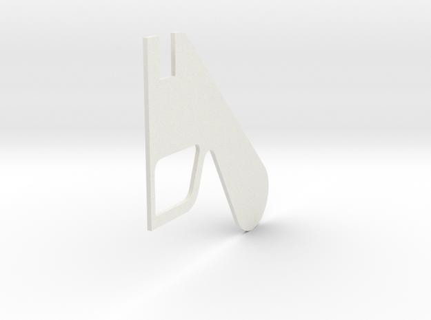 LPA NN-14 - Right grip in White Natural Versatile Plastic