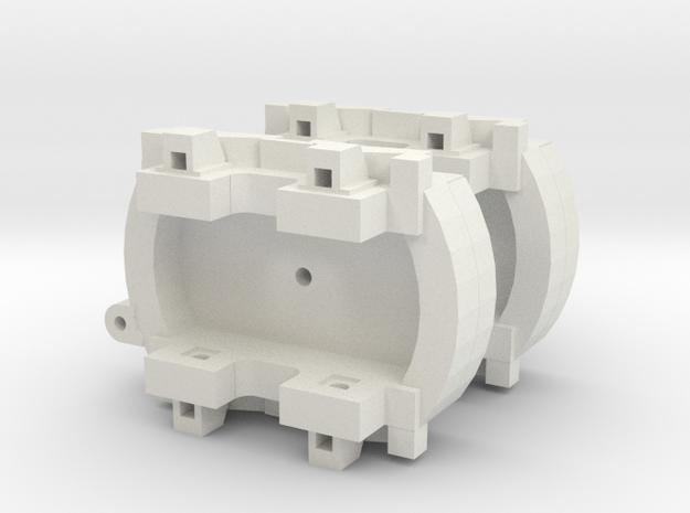 A-1-160-pechot-bogies-1a in White Natural Versatile Plastic