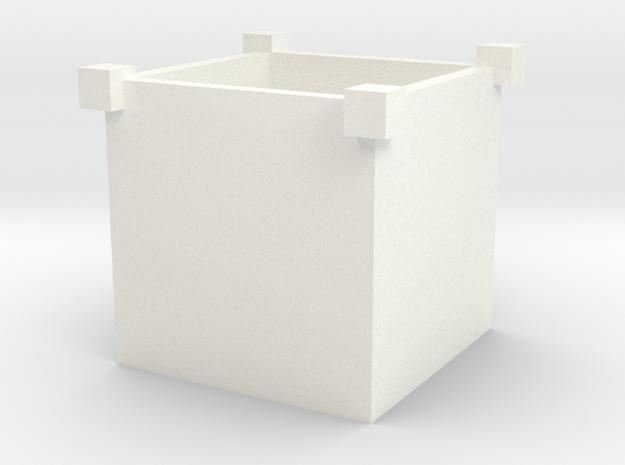 盆栽盒 in White Processed Versatile Plastic