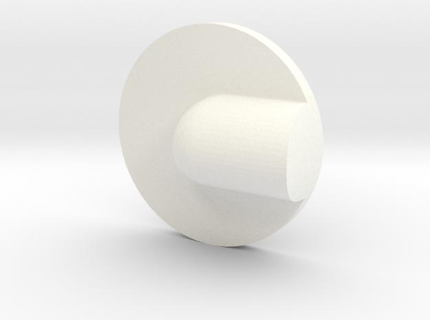 Pan in White Processed Versatile Plastic