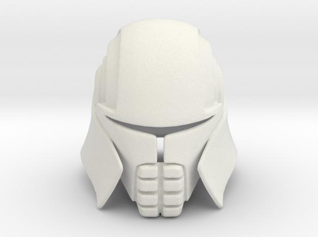 Lord Starkiller Helmet Star Wars: Force Unleashed in White Natural Versatile Plastic
