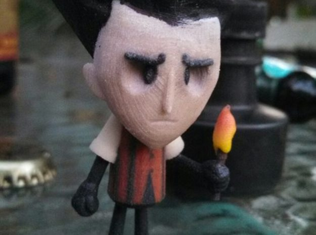 Wilson - Dont Starve 3d printed