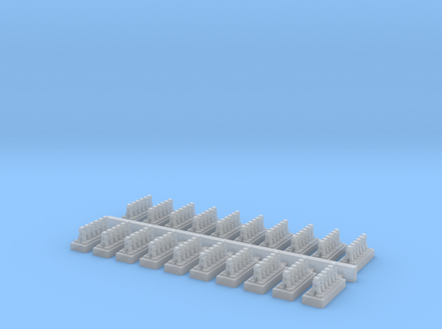A Frames 5 x 20 - 7mm Scale in Frosted Ultra Detail