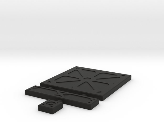 SciFi Tile 03 - Reinforced Plate 3d printed