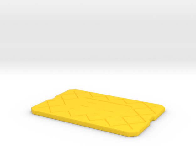 Coaster FH in Yellow Strong & Flexible Polished