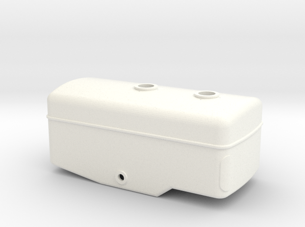 Zunhammer Tank 1:32 in White Processed Versatile Plastic