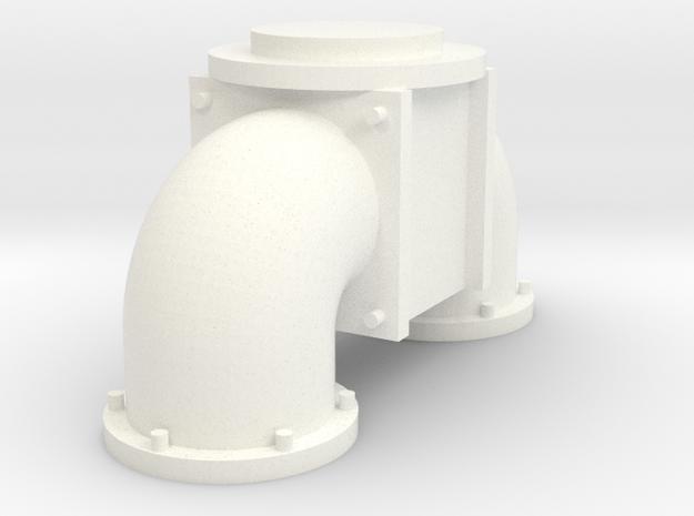 Zunhammer Part 2 1:32 in White Processed Versatile Plastic
