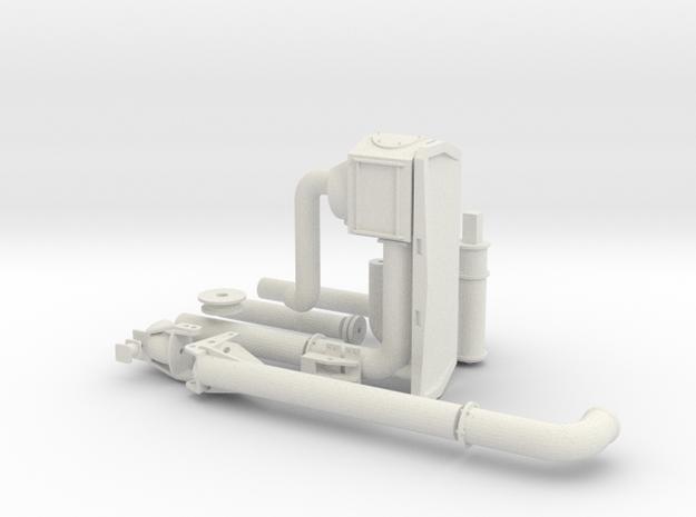 Zunhammer Pumpstation 1:32 in White Natural Versatile Plastic