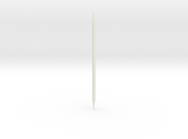 WAC Corporal Conduit For BT60 in White Natural Versatile Plastic
