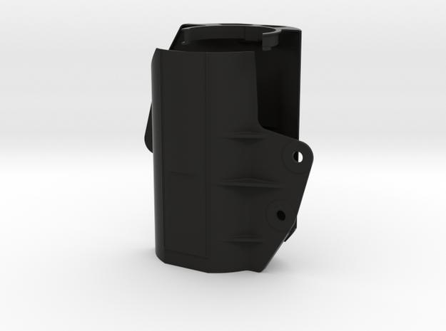 Gabelschutz Multistrada 1200- Sachsgabel D-Air in Black Natural Versatile Plastic