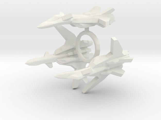 3x YF-19 Alpha One 1/1000