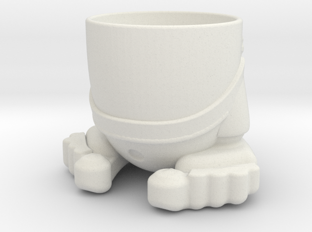 Zmug in White Natural Versatile Plastic