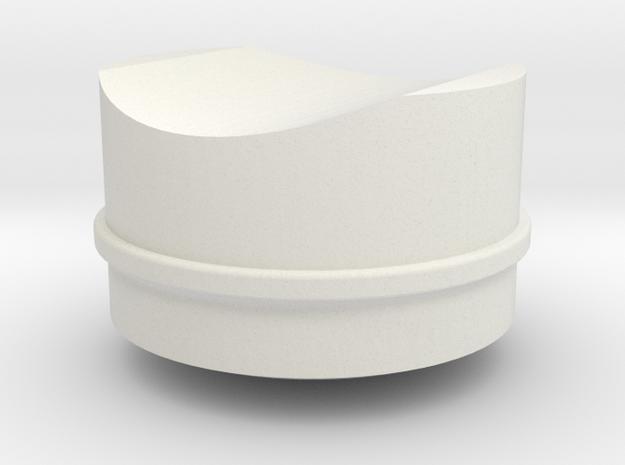 Ahsoka Tano Lightsaber - Button 2 in White Strong & Flexible